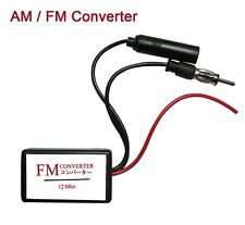 12MHz AM FM Band Expander Convert Japan Car Radio Frequency Up to 108MHz