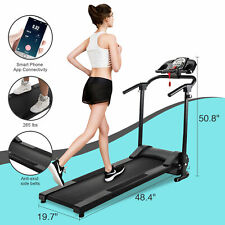 750W Foldable Electric Motorized Treadmill Running Jogging Gym Power Machine Nst