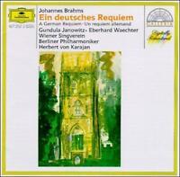 German Requiem (Bpo/karajan) (UK IMPORT) CD NEW