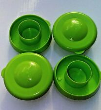 Water Bottle Lime Green Dew Cap Snap On 55mm Drinking Jug Tops Bag of 4