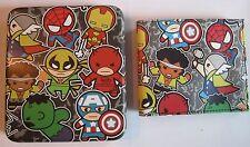 Avengers Iron Man Thor Kawaii Slimfold Wallet Collector Tin Marvel Comics 0007