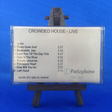 CROWDED HOUSE: Special Edition Live (OUT OF PRINT RARE IN HOUSE 1996 CASSETTE)