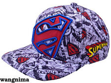 DC Comics Superman Hat Cap Trucker Baseball New Curved Hip-Hop Men Otaku Gift