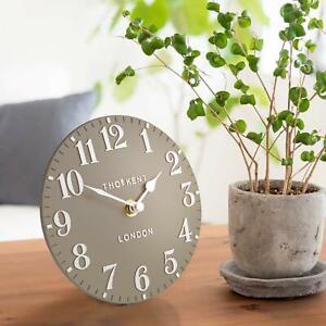 Thomas Kent Arabic Design Clay Mantel Clock