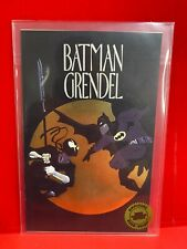 1993 DC Hero Premier #2, Batman & Grendel Gold Foil Ashcan SEALED C6
