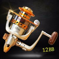 12BB Ball Bearing Saltwater Freshwater Fishing Spinning Reel EF500-9000 5.5:1