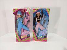 Mattel 1997 Lot Cool Blue & Teresa Friend of Barbie Perfect Pink #19668 #20122