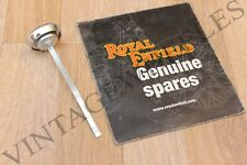 ROYAL ENFIELD BULLET - OIL FILLER GAUGE CAP #140124. GENUINE PART