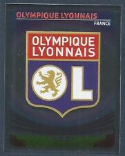PANINI UEFA CHAMPIONS LEAGUE 2007-08- #213-LYON TEAM BADGE-SILVER FOIL