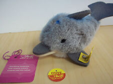 Vintage Steiff Clippy The Dolphin  #1472/07 - Excellent