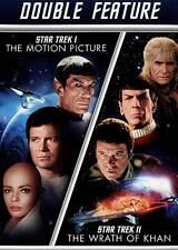 Star Trek/Star Trek II Double Feature (DVD, 2013, 2-Disc Set, Widescreen)