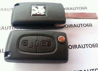 Boitier Coque cle Télécommande clef Peugeot 207*3008*308*5008* CE0523