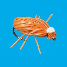 Brown Deerhair beetle, 6 pcs. size 20
