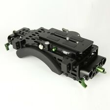 Lanparte VMS-01 Shoulder Mount Support Pad & Baseplate - ENG Style Camcorder Rig