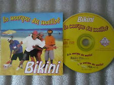 CD-BIKINI-LA MARQUE DU MAILLOT-RADIO/DUB MIX-A HERMET-FKGB(CD SINGLE)1996-2TRACK