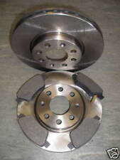 VAUXHALL ADAM 1400 S TURBO REAR 264mm SOLID BRAKE DISCS AND BRAKE PADS