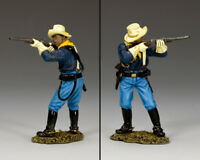 KING & COUNTRY THE REAL WEST TRW124 BUFFALO SOLDIER STANDING FIRING CARBINE MIB