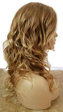 Forever Young Hollywood Honey Wig (Color: 24B27C Strawberry Blonde) Wavy Curly