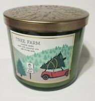 Bath and Body Works TREE FARM Pine, Cedar & Apple 3 Wick Candle 14.5 OZ Jars