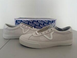 Vans Originals OG Epoch LX Suede Marshmallow White Mens Sz 10 Sneakers NEW!!