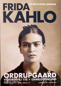 Frida Kahlo Denmark Museum 1997 Poster 39-1/4 x 27-1/2
