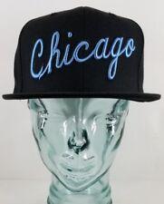 Mitchell & Ness NBA Snapback Chicago Bulls Hat - Baby Blue - UNC