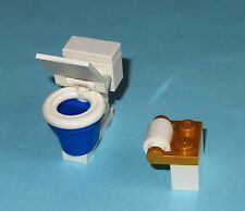 Custom Lego Toilet Lid Moves Latrine Bathroom Lavatory WC Loo 10224 Water Closet