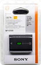 Sony Serie Z NP-FZ100 2.280mAh Batería Recargable - Negra