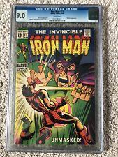 CGC 9.0 Iron Man 11 - Iron Man Vs. The Mandarin