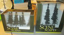 HO Bachmann Scene Scapes(7 Trees 1 Missing.)(4 Trees 2 Missing.)Bac 32104,32003.