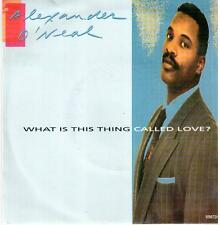 "<350> 7"" Single: Alexander O'Neal - What Is This Thing Called Love? / Crying ..."