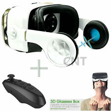 3D Virtual Reality VR Glasses Box  For SamSung Galaxy S4 S5 S6 S7+Controller