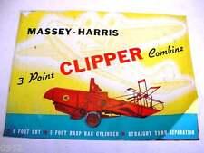 Massey Harris Clipper Combine Brochure