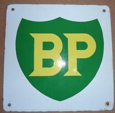 Vintage Original Porcelain British Petroleum BP Gas Pump Plate
