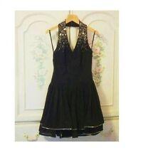 Ted Baker Dress size 4 Formal Wear NWT Elegant Halter Little Black Dress