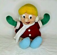 "Frosty The Snowman Karen Plush Soft Doll 1999 CVS Stuffins 8"" Plush Toy"