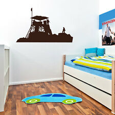 Army Base Marines Combat Military Wall Decor Decal Sticker Soldier Children A45