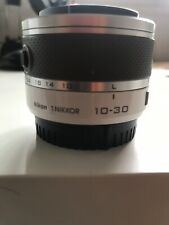 Objetivo Lens Nikon Nikkor 10-30mm Blanco White
