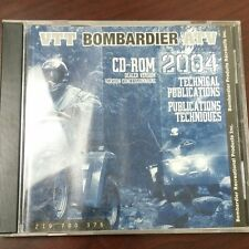 NEW OEM BOMBARDIER TECHNICAL PUBLICATIONS CD DISC 2004 219700376