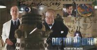 "Doctor Who ""Victory of the Daleks"" Collectors Stamp Cover - Signed IAN McNEICE"