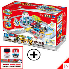 Little Bus TAYO & TITIPO Train Railway Station Play Set with TITIPO Train Toy