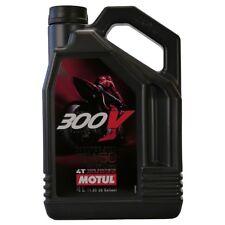 Motul 300V 4T FL Road Racing 10W-40 Moto sono  4 LITRI