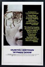 STRAW DOGS * 1SH ORIG MOVIE POSTER 1972 STYLE C
