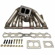 REV9 HP-Series Equal Length T4 Turbo Manifold For Toyota 1JZGTE Motors