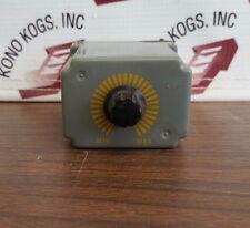 Square D 8501 JCK-11 Timing Relay on Delay 0.1-10 Sec.