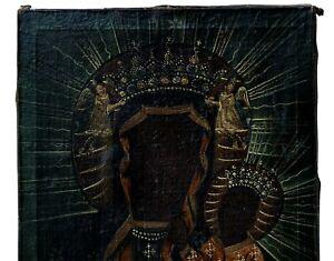 Madonna Czestochowa / Öl / LW, um 1800 (# 14434)