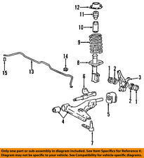 HYUNDAI OEM 90-94 Excel Lower Control Arm-Front-Bushing 5455224100
