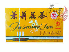 China Jasmine Tea Bags 100 Pcs - Great Chinese Jasmine Tea Time At Work Break