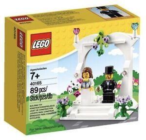 LEGO 40165 Wedding Favour Set 2016 Includes Bride & Groom Minifigures BNIB