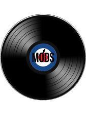 "Novelty MODS Vinyl Look 7.5"" Edible Wafer Paper Cake Topper"